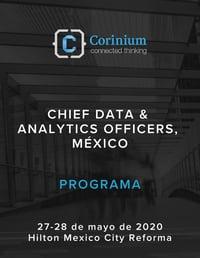 CDAO Mexico 2020 - Agenda Cover